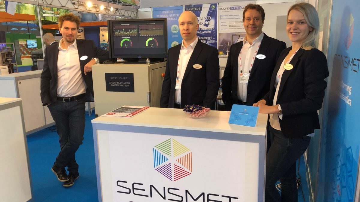 Sensmet at Aquatech 2019